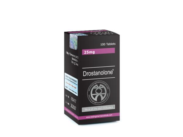 Drostanolone 25mg Black
