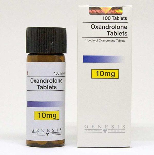 genesis oxandrolone tablets 100 tabs