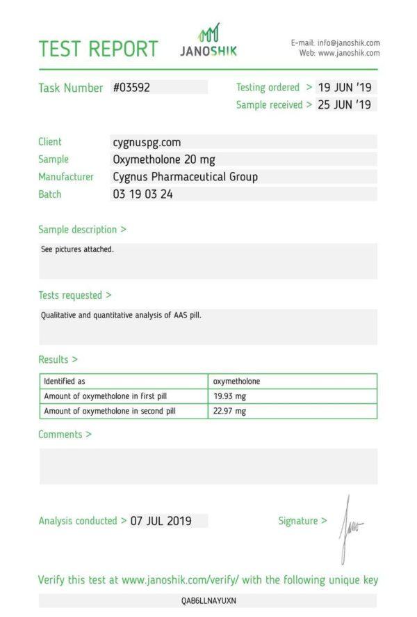 oxy Cygnus pharma 1
